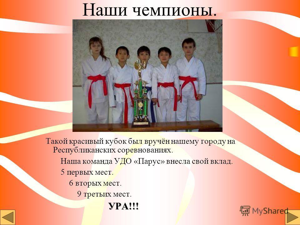 Только в спаррингах проверяется сила и дух Мы тоже хотим, серьёзно заниматься каратэ