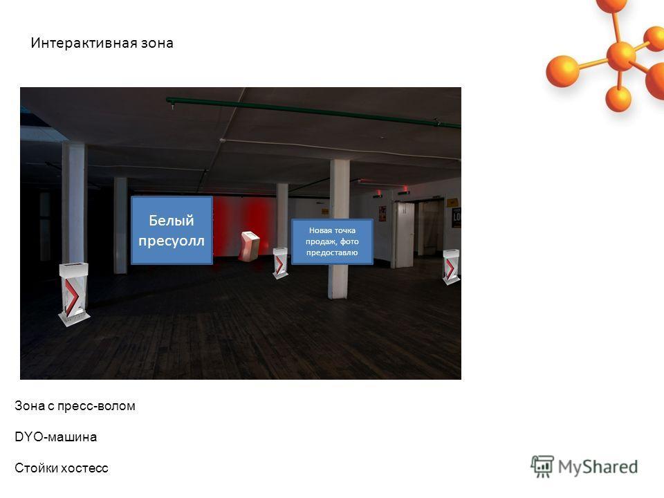 Зона с пресс-волом DYO-машина Стойки хостесс Интерактивная зона Белый пресуолл Новая точка продаж, фото предоставлю