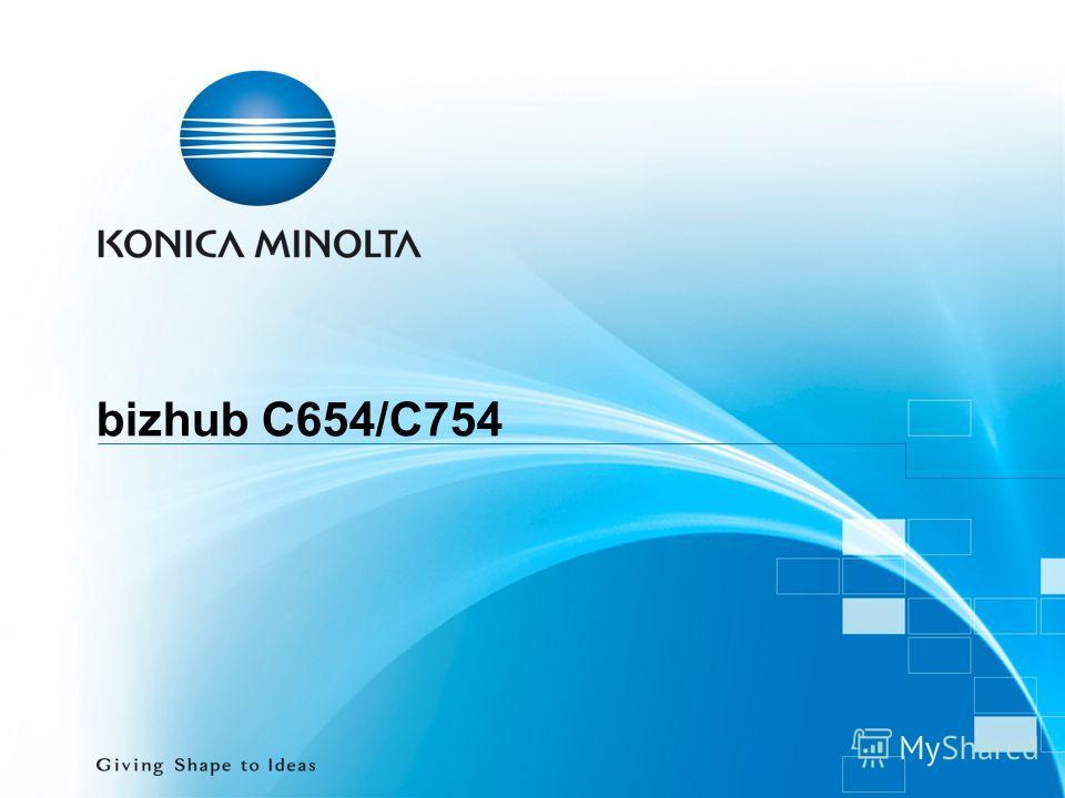 bizhub C654/C754