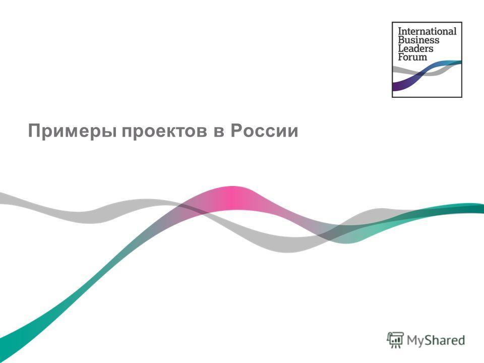 Примеры проектов в России
