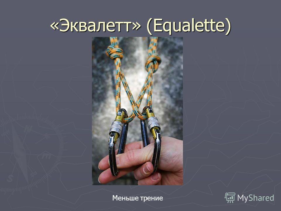 «Эквалетт» (Equalette) Меньше трение