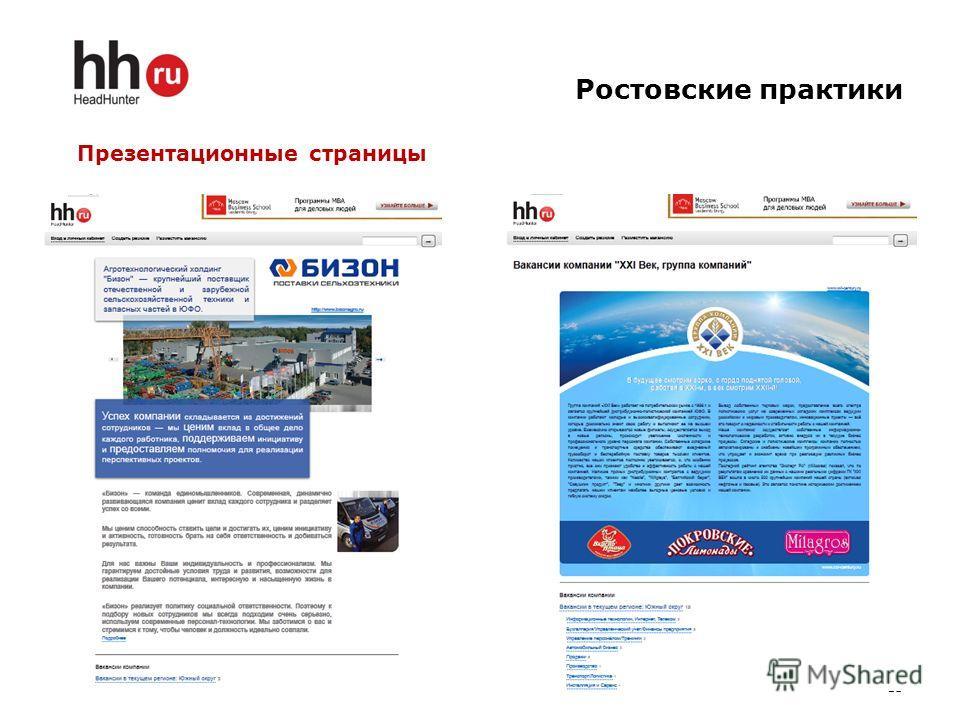 Ростовские практики 15 Презентационные страницы
