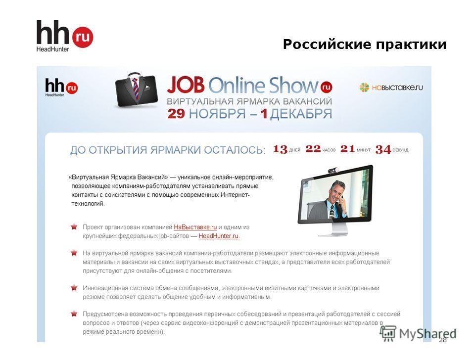 Российские практики 28