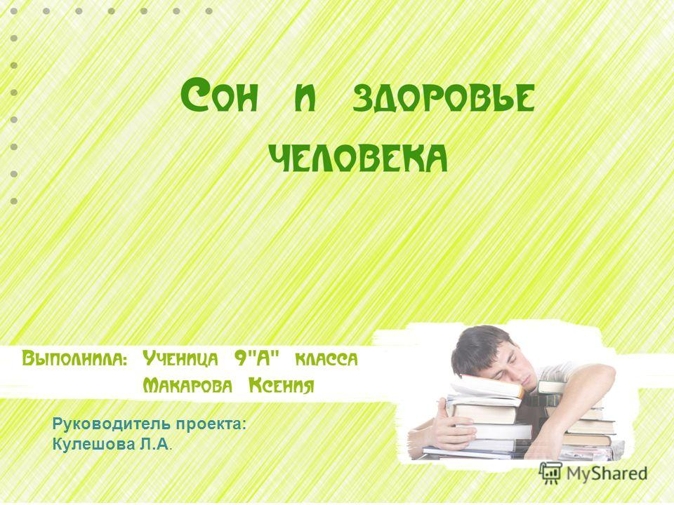 Руководитель проекта: Кулешова Л.А.