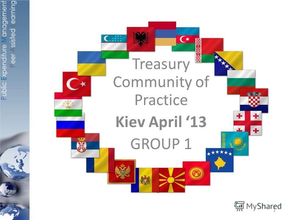Treasury Community of Practice Kiev April 13 GROUP 1 1
