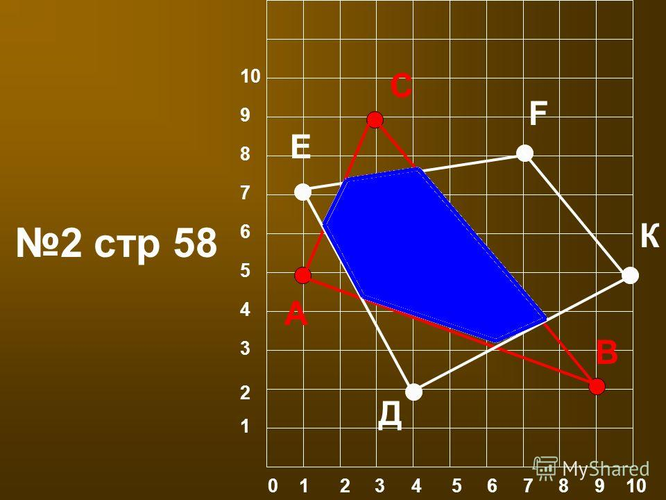 0 1 2 3 4 5 6 7 8 9 10 1 2 3 4 5 6 10 9 8 7 2 стр 58 А В С Д Е F К