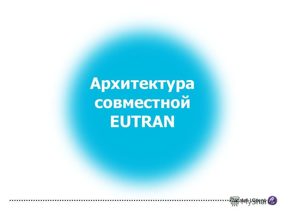 Архитектура совместной EUTRAN