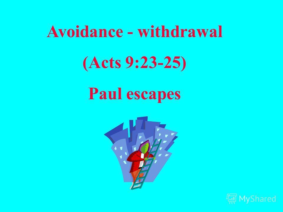 Устраниться (избежать) - (Иоан 10:39) Иисус уклонился от рук их