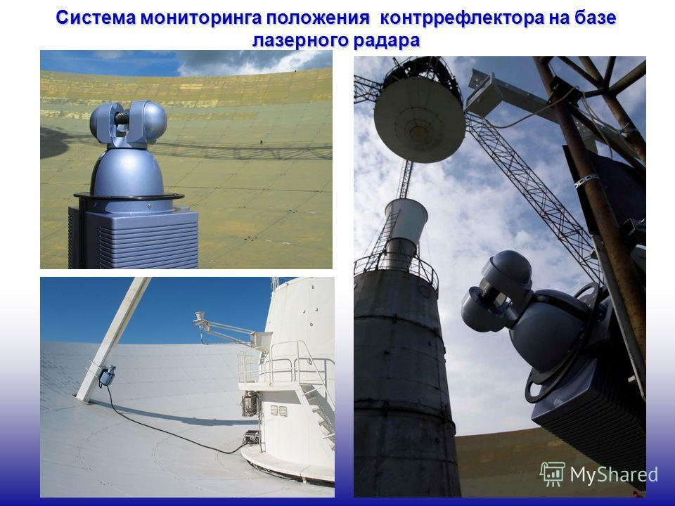 Система мониторинга положения контррефлектора на базе лазерного радара