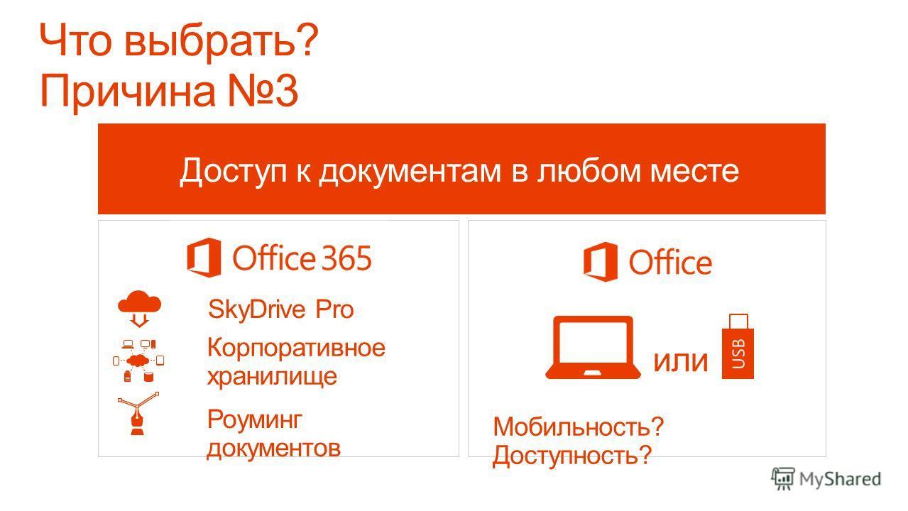 Office по запросу Требуется лицензия и инсталляция Office Возможность использования вашего Office на любом компьютере