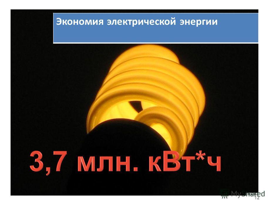 11 Экономия тепловой энергии