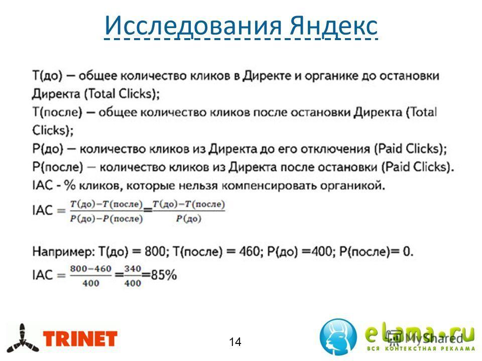 Исследования Яндекс 14