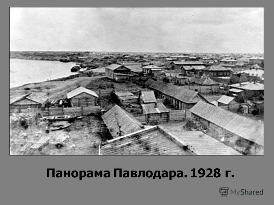 Панорама Павлодара. 1928 г.