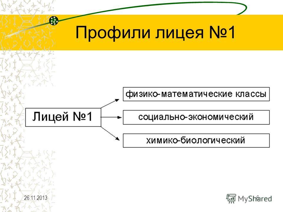 26.11.20136 Профили лицея 1