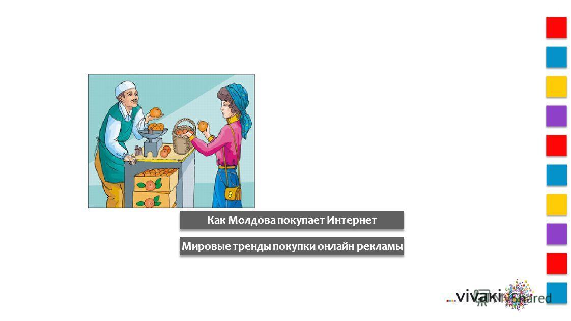 Как Молдова покупает Интернет Мировые тренды покупки онлайн рекламы