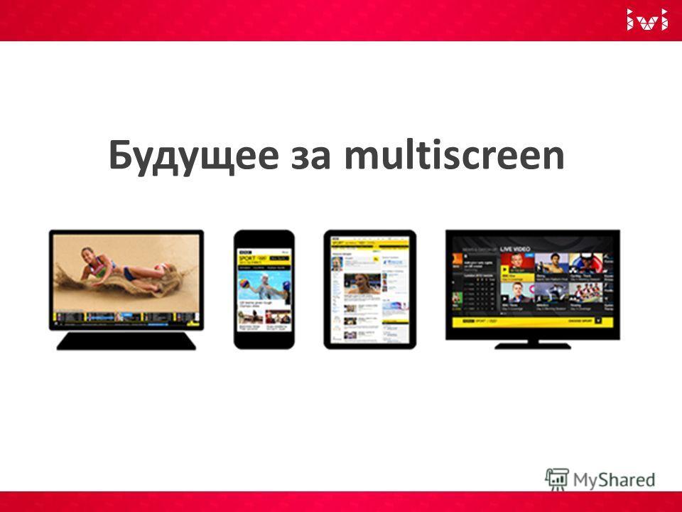 Будущее за multiscreen