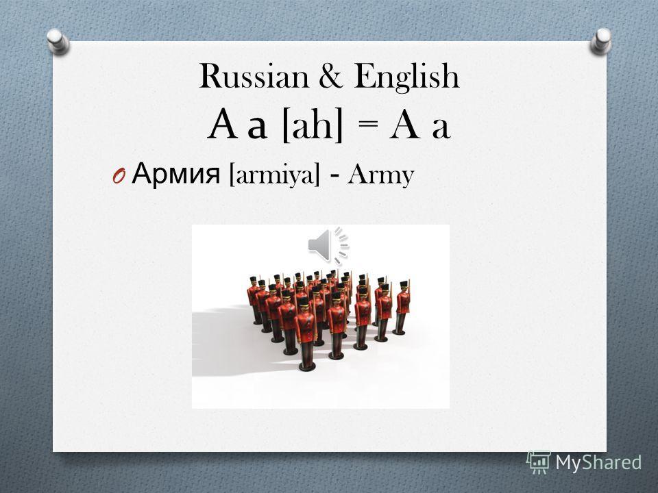 Information O 33 Alphabets O Form of Cyrillic script O Different Alphabets than English O Sometimes No sound or hard pronunciation