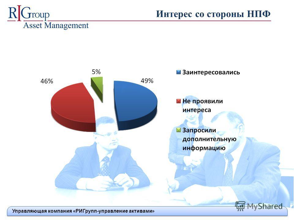 Интерес со стороны НПФ Управляющая компания «РИГрупп-управление активами»