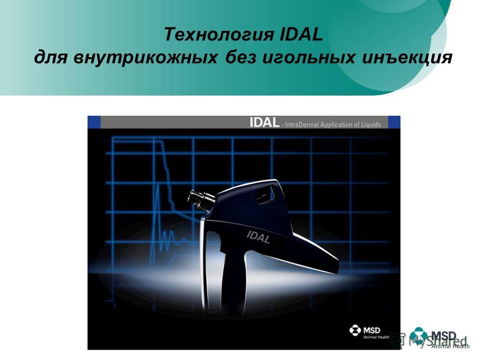 Технология IDAL для внутрикожных без игольных инъекция