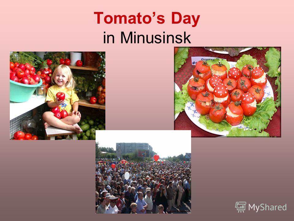 Tomatos Day in Minusinsk
