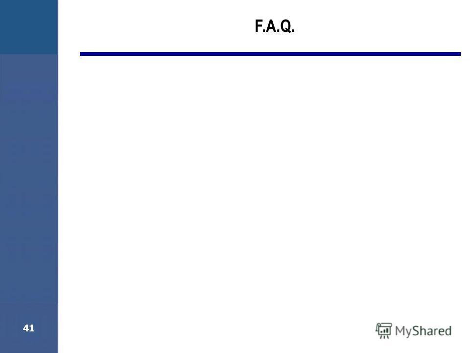41 F.A.Q.