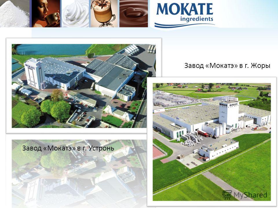 Завод «Мокатэ» в г. Жоры Завод «Мокатэ» в г. Устронь