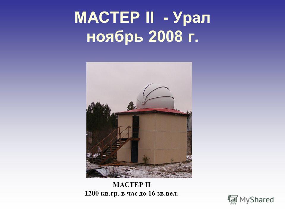 Первые результаты наблюдений на комплексе МАСТЕР Комета Лулин Февраль, 2008 Видны газовые струи, выброшенные по ходу движения кометы