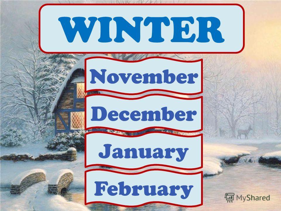 WINTER November December January February
