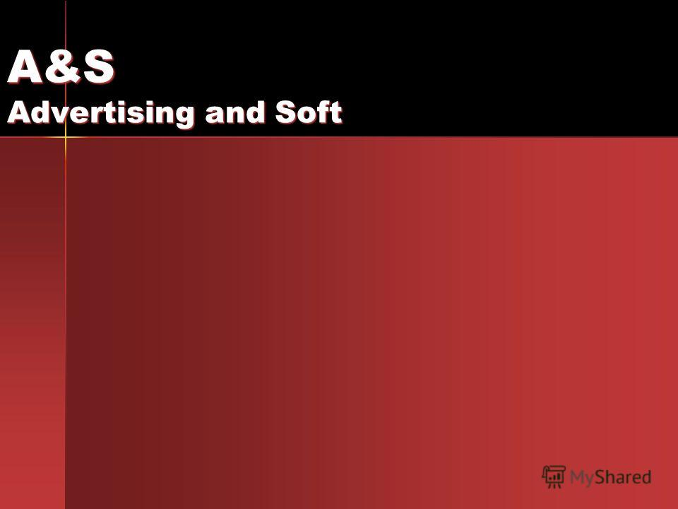 A&S Advertising and Soft