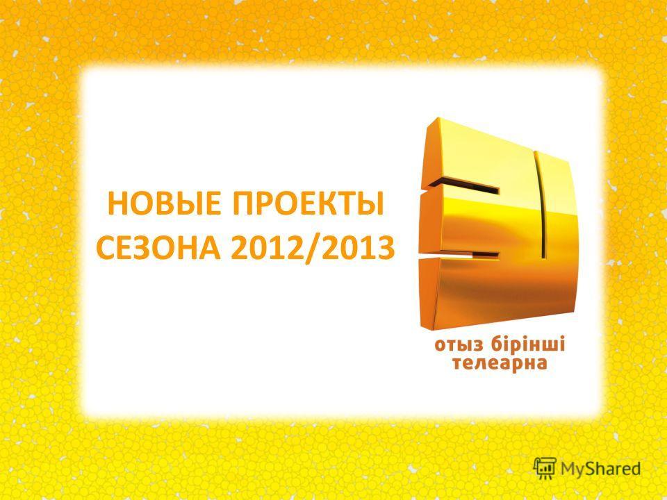 НОВЫЕ ПРОЕКТЫ СЕЗОНА 2012/2013
