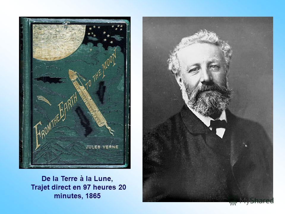 De la Terre à la Lune, Trajet direct en 97 heures 20 minutes, 1865
