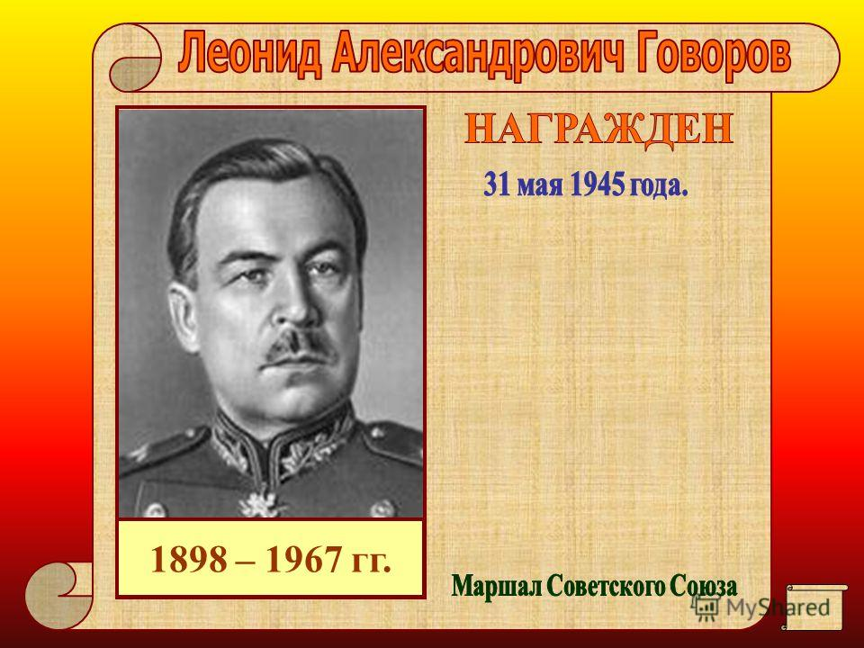 1895 – 1977 гг.