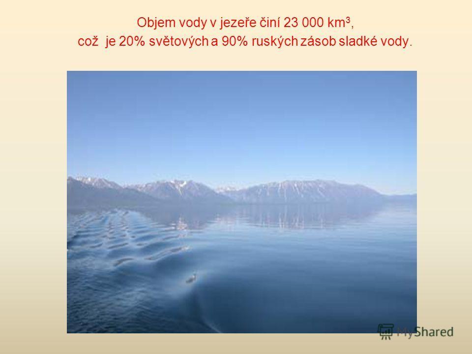 Na jaře dosahuje průhlednost bajkalské vody 40 m. Možné vysvětlení spočívá v tom, že díky aktivitě zde žijících mikroorganismů je voda minerální a svým charakterem se blíží destilované vodě.