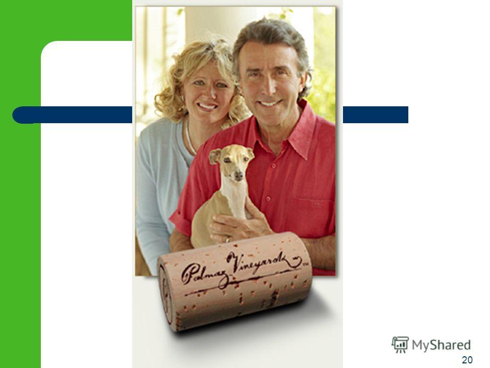 19 лучше быть здоровым и богатым, чем бедным и больным 2001: Johnson & Johnson купил права на патенты у Палмаза и его партнёров за $600 миллионов Палмаз получил 45% - $270 Миллионов переехал в Сан Франциско и... открыл винодельню в долине Напа