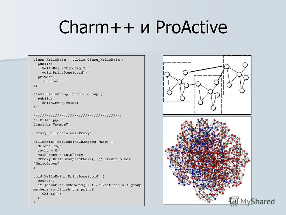 Charm++ и ProActive