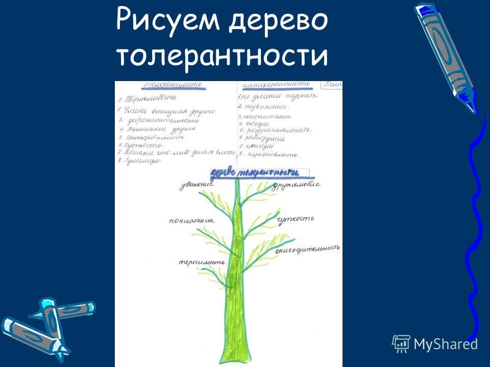Рисуем дерево толерантности