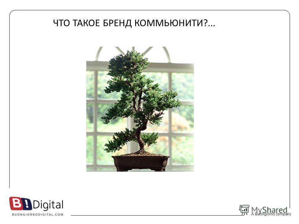 A Buongiorno company ЧТО ТАКОЕ БРЕНД КОММЬЮНИТИ?...