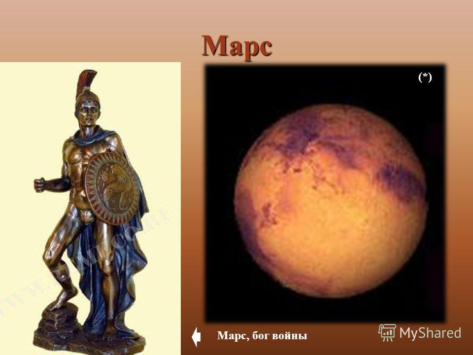Марс (*) Марс, бог войны