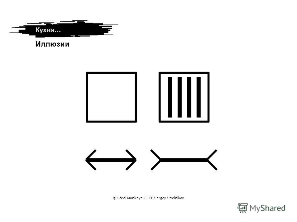 Используйте знания Кухня… Иллюзии © Steel Monkeys 2008 Sergey Strelnikov