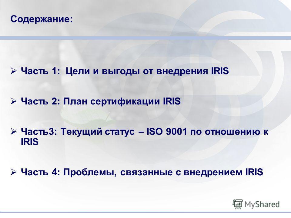 Do not put content in the brand signature area Программа внедрения требований стандарта IRIS предприятиях ЗАО «Трансмашхолдинг» 28 - 29 е июля 2010г. Москва