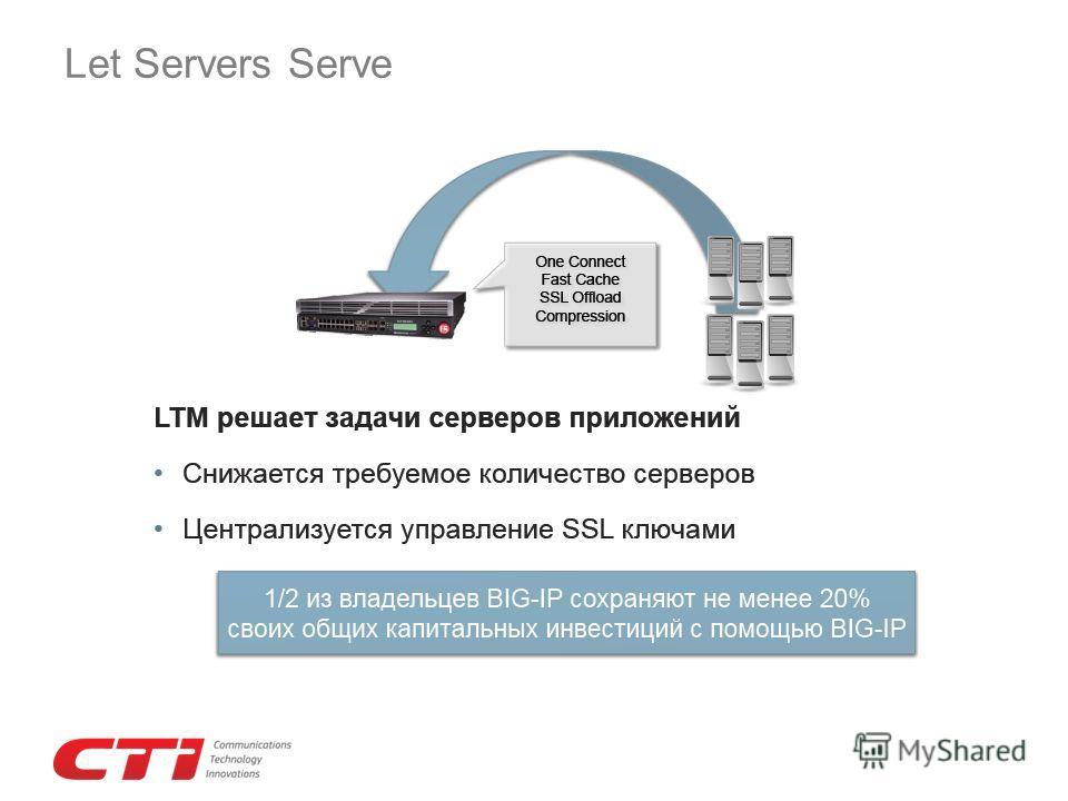Let Servers Serve