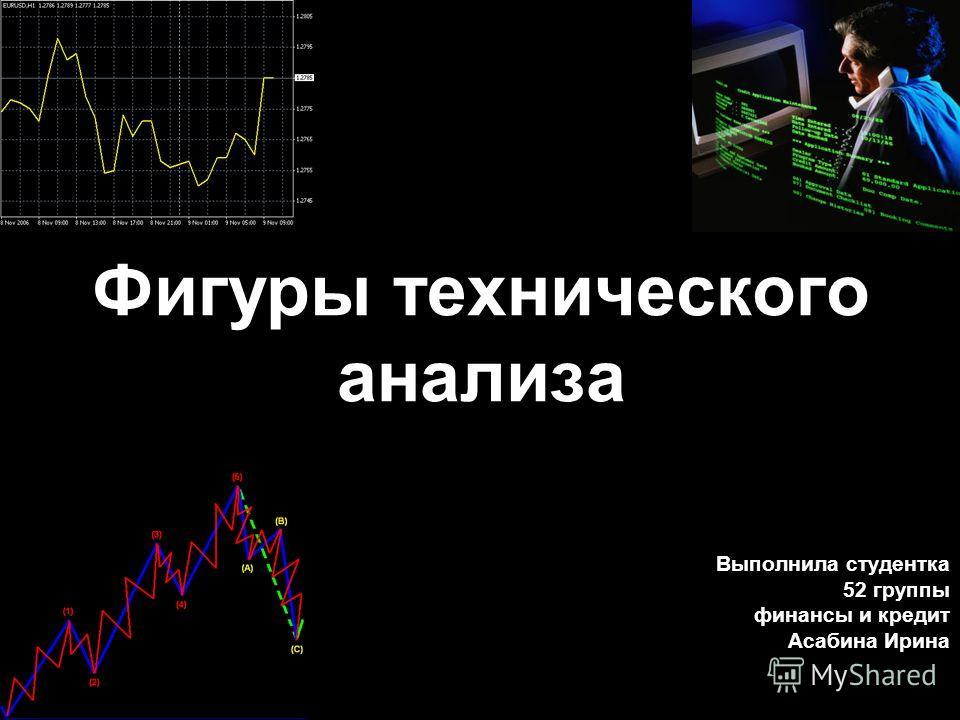 Фигуры технического анализа Выполнила студентка 52 группы финансы и кредит Асабина Ирина