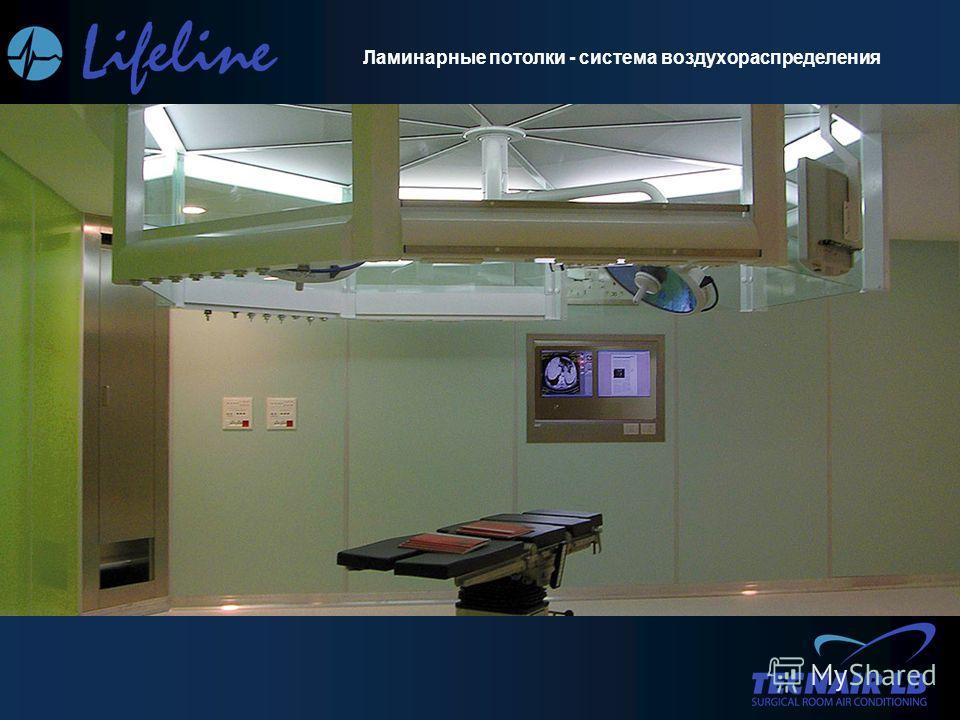 Ламинарные потолки - система воздухораспределения