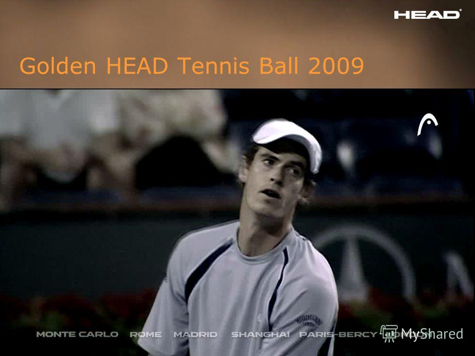 ISM 2009 HEAD Tennisballs Slide 4 Golden HEAD Tennis Ball 2009