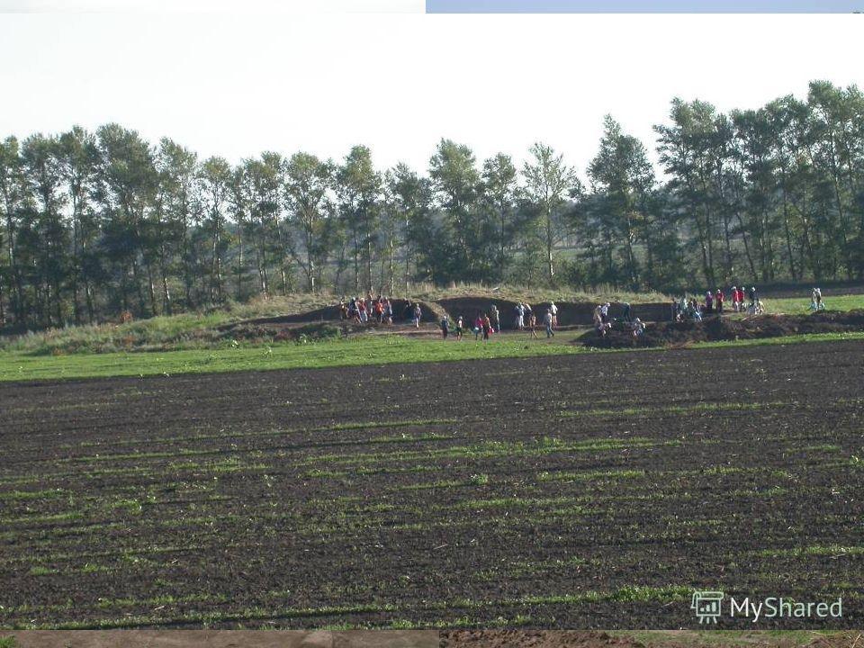 В кургане 4 удалось снять часть насыпи юго-восточного сектора. Все земляные работы осуществлялись вручную.