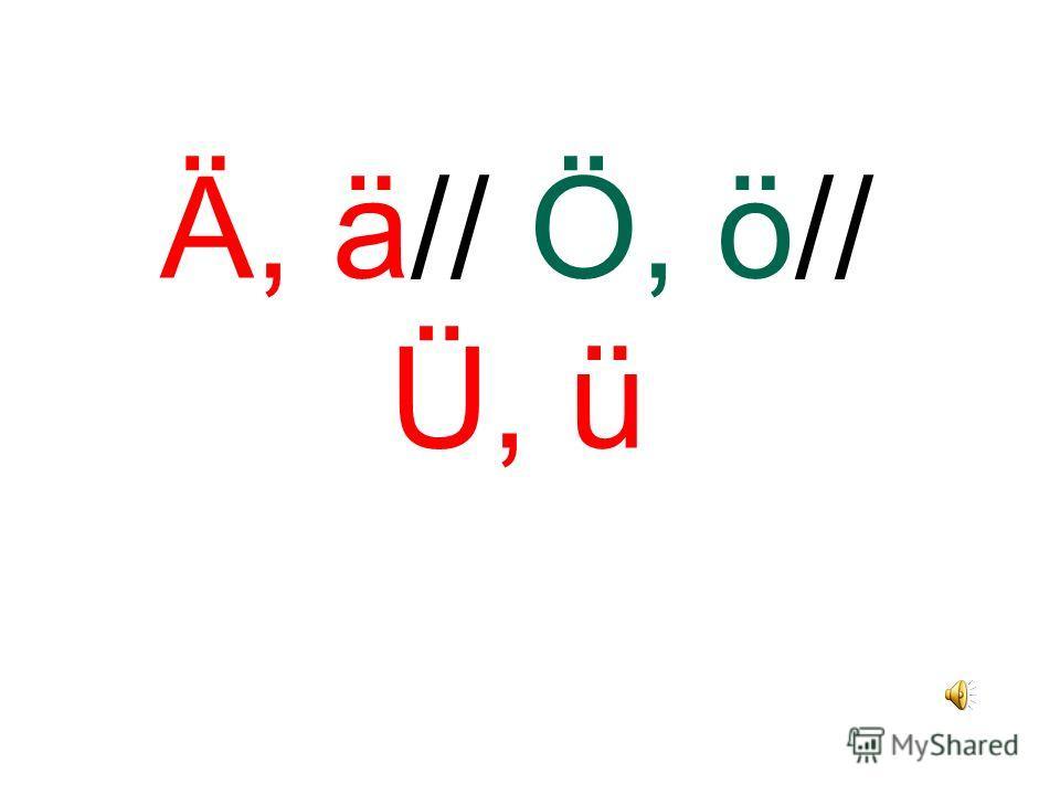 Ei, ei// Ie, ie// Eu, eu// L, l// Ch, ch// H, h// R, r// Sch, sch// Sp, sp// St, st // X, x// Chs, chs// Ck, ck// Tz, tz// Pf, pf