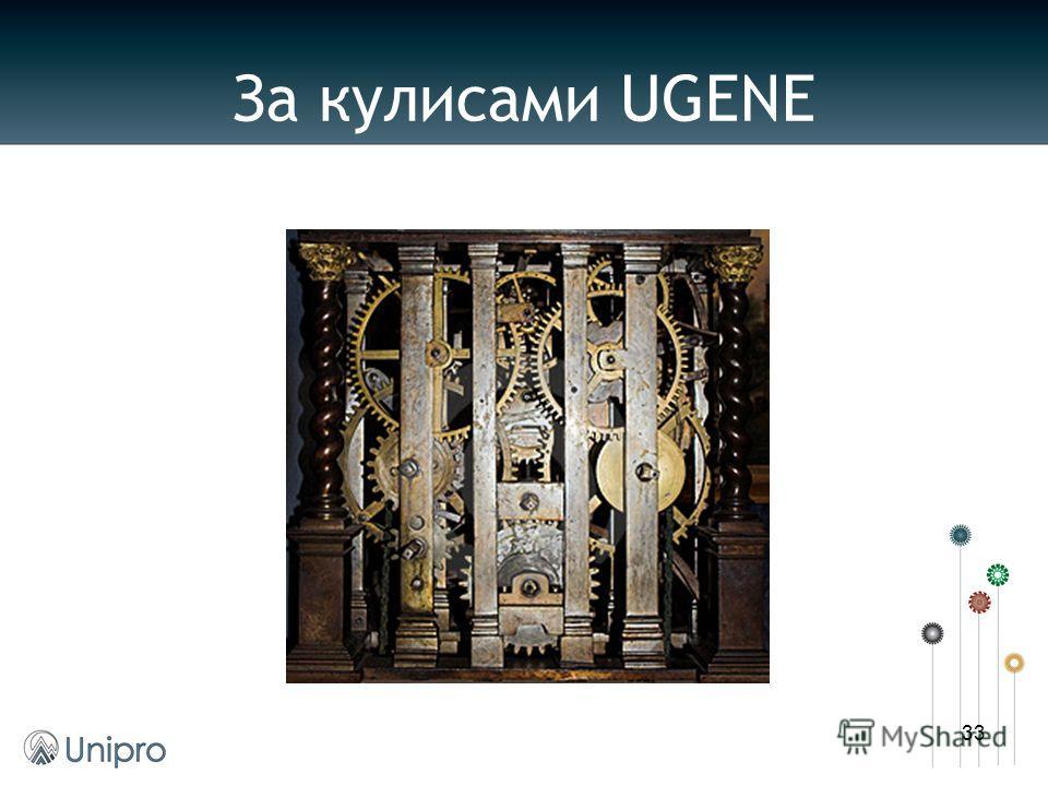 За кулисами UGENE 33