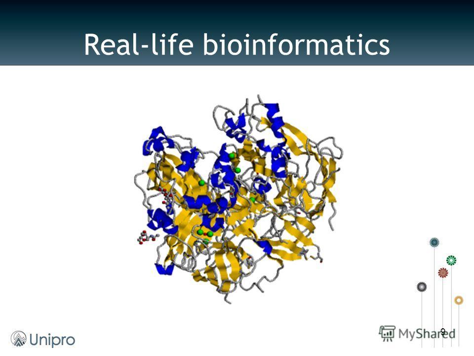 Real-life bioinformatics 9