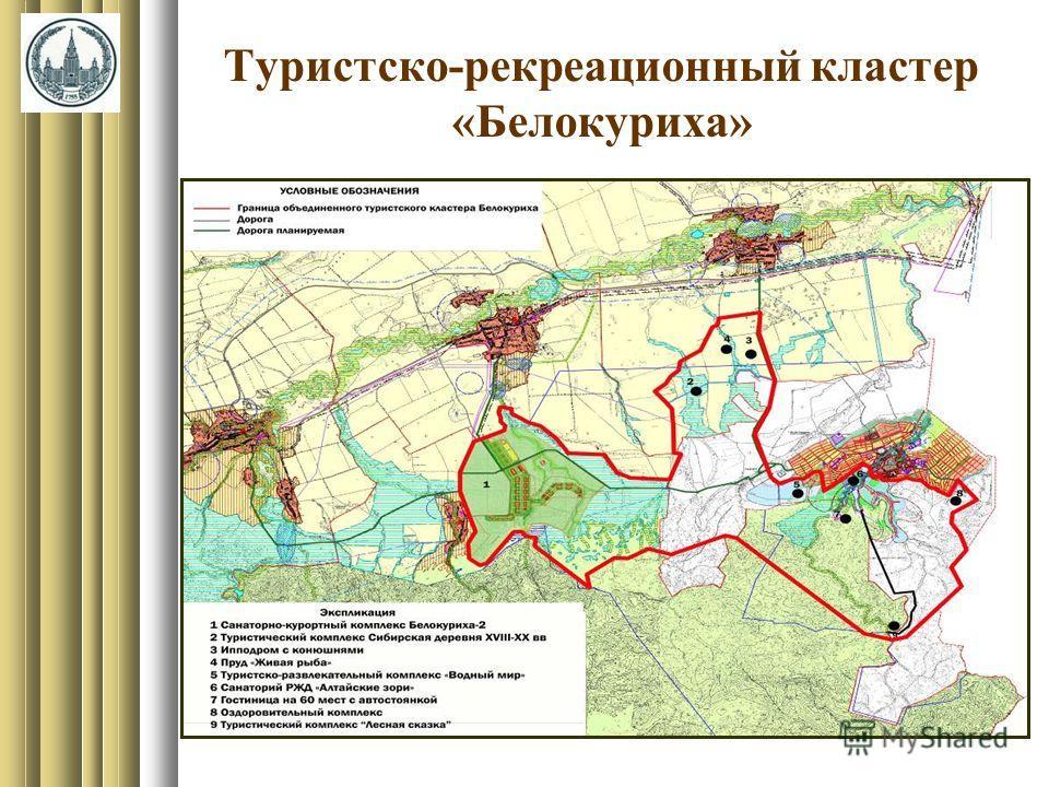Туристско-рекреационный кластер «Белокуриха»