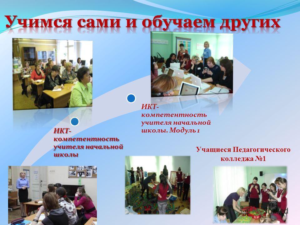 ИКТ- компетентность учителя начальной школы ИКТ- компетентность учителя начальной школы. Модуль 1 Учащиеся Педагогического колледжа 1